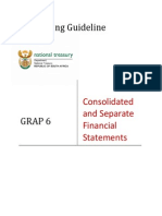 GRAP Guideline 6 - Consolidated and Separate Financial Statements