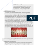 Gambaran Klinis Periodontitis Agresif
