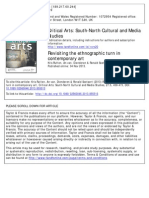 Revisiting Ethnographic Turn in Contemporary Art