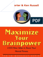 maximize your brainpower 1000 new ways to boost your mental fitness 2003