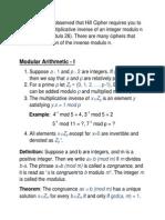 L07 Modular Arithmetic