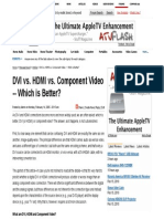 DVI vs. HDMI