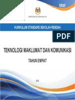 DSK Teknologi Maklumat Dan Komunikasi Thn 4