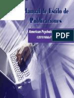 Presentacion Estilo APA 6ta Edicion