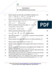 11 Mathematics Conic Section Test 01