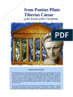 Letter From Pilate to Tiberius Caesar