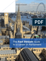 Fast Stream Booklet FINAL 2012