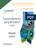 3d Crack Fracture Wb145 CAEA