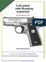 Colt Pistol Model Mustang Explained