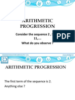 EUDIGM ARITHMETIC PROGRESSION