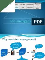 Chapter 5 Test Management 1slide