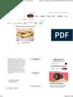 Salade de pâtes - Poulet et Basilic