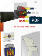 Chișinău -capitale de la République de Moldavie