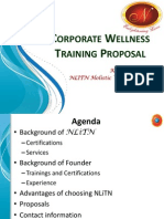corporate proposal wo cost