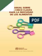 L - Manual Sobre Las 5 Claves Para La Inocuidad de Los Alimentos