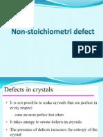 M5 Non Stoichiometri Defect