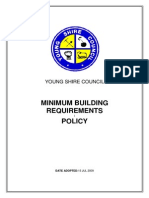 Building - Minimum Building Requirements