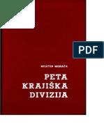 Milutin Moraca-Peta Krajiska Divizija