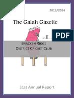 the galah gazette