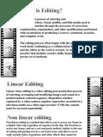 Editing Unit V