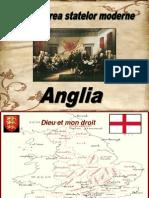 Organizarea Statelor Moderne Anglia