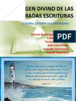 ORIGEN DIVINO DE LAS SAGRADAS ESCRITURAS.pptx