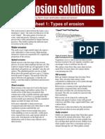 Types of Erosion