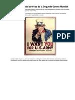 Los carteles más icónicos de la Segunda Guerra Mundial