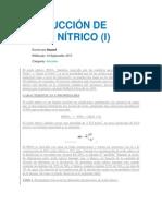 PRODUCCIÓN DE ÁCIDO NÍTRICO