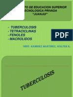 10ss Tuberculosis Tetraciclinas Fenoles Macrolidos