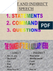 Direct and Indirect Speech