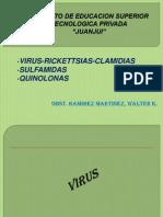 11ss Virus Rickettsias Clamidias Sulfamidas Fluoroquinolonas