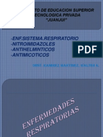 13ava Ss-Enf.sist.Resp-nitroimidazoles. Antihelminticos. Antimicoticos
