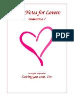 Love Note Book