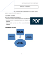 LGA3103 Topic 8 Types of Assessment
