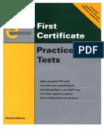 FCE PracticeTests