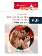 Williams Cathy - The Multi-Millionaire's Virgin Mistress