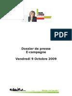 Dossier de Presse E-Campagne