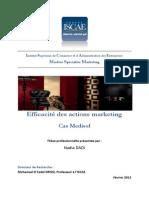 152892920 Efficacite Des Actions Marketing Cas Medisol