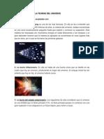 Comparaciones de La Teorias Del Universo