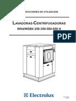 Secadoras Industriales Maquinas Para Lavaderos Inst WS B4250 350 500 650H