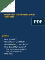 Umdf Intro