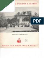 A History of Dyrham & Hinton