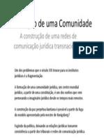 Direito Comunitário Transnacional