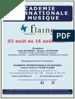 Plaquette AIM 2014-2