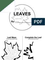 Leaf Activity Book