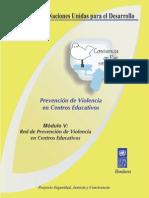 Mod5 Red de Prevencion de Violencia en Centros Educativos
