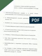Bibliografie Pentru Seminarul de Cultura Si Schimbare Organizationala.