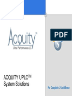 ACQUITY System Solutions