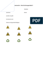 Laboratorio típico del nivel de bioseguridad 3